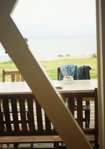 琵琶湖 なぎさのテラス 食レポ