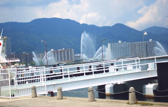 琵琶湖 ミシガン