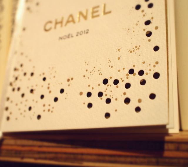 シャネル クリスマスコフレ 2012